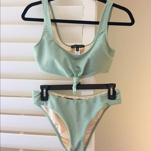 Other - Kendall and Kylie mint green bikini (never worn)